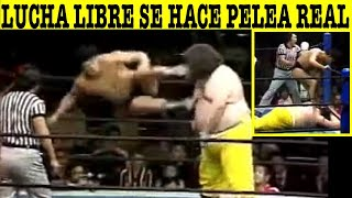 Top 5 Ocasiones Donde La Lucha Libre Se Hizo Real