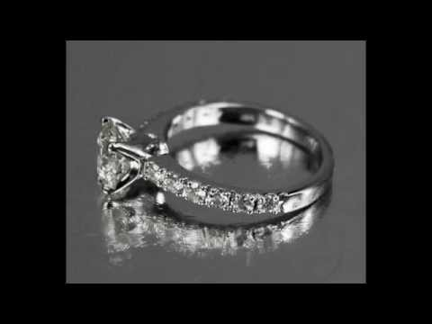 1 carat Classic Solitaire Diamond Engagement Ring from Bangkok, Thailand.mov