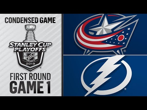 04/10/19 First Round, Gm1: Blue Jackets @ Lightning