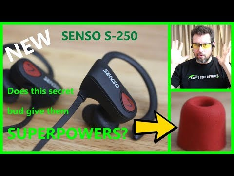 Senso Activbuds S-250 Bluetooth Headphones Review | Charging | User Guide