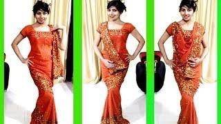 How to wear Fish cut Saree Draping | Drap Different Style Fish Cut Or Mermaid Style Saree (Hindi)