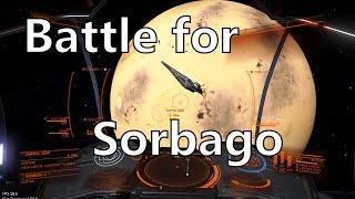 Elite Dangerous story and dynamic events - Battle for Sorbago and the Interdictor Elizabeth