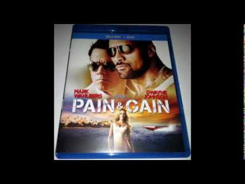 Pain & Gain 2013  Blu Ray  and Unboxing