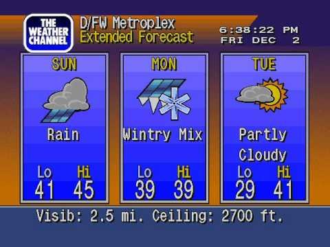 WS4000v3 Emulator - Irving Texas - Dec 2 2011 - More Fog and...wintry mix!!!