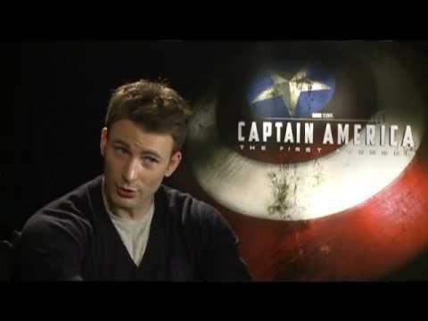 Chris Evans Interview for CAPTAIN AMERICA: THE FIRST AVENGER