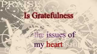 Hezekiah Walker & LFC  GRATEFUL (lyrics video)  HD