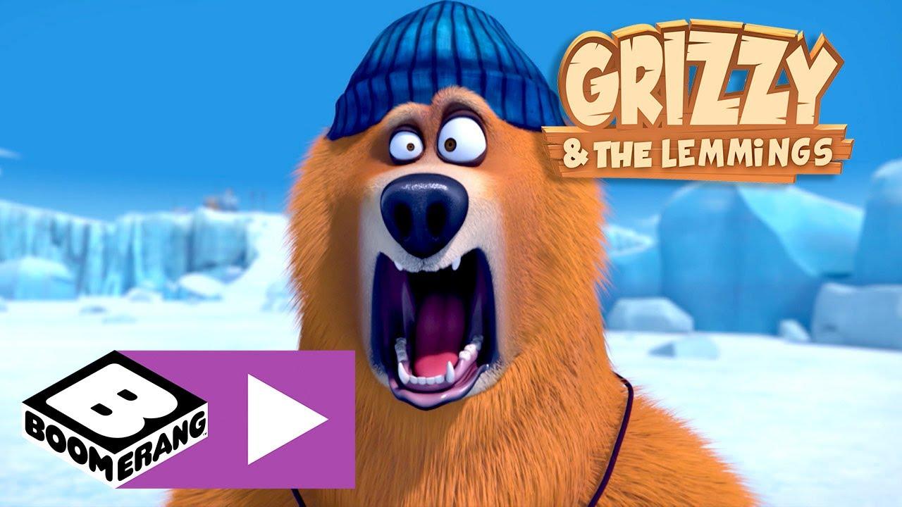 Grizzy und die Lemminge | Eisfischen | Boomerang