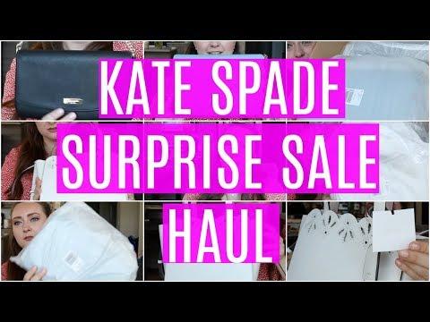 KATE SPADE SURPRISE SALE HAUL!