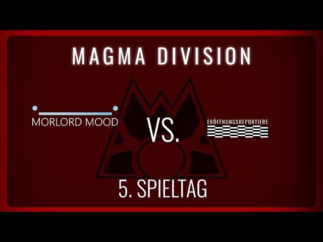 Morlord Mood vs Eröffnungsrepertoire, 5. Spieltag Magma Division   NERDKRAM POKEMON LEAGUE