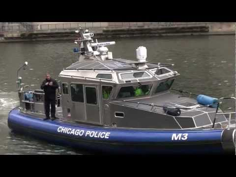Chicago Police Marine Unit - 44-foot Archangel Class SAFE Boat