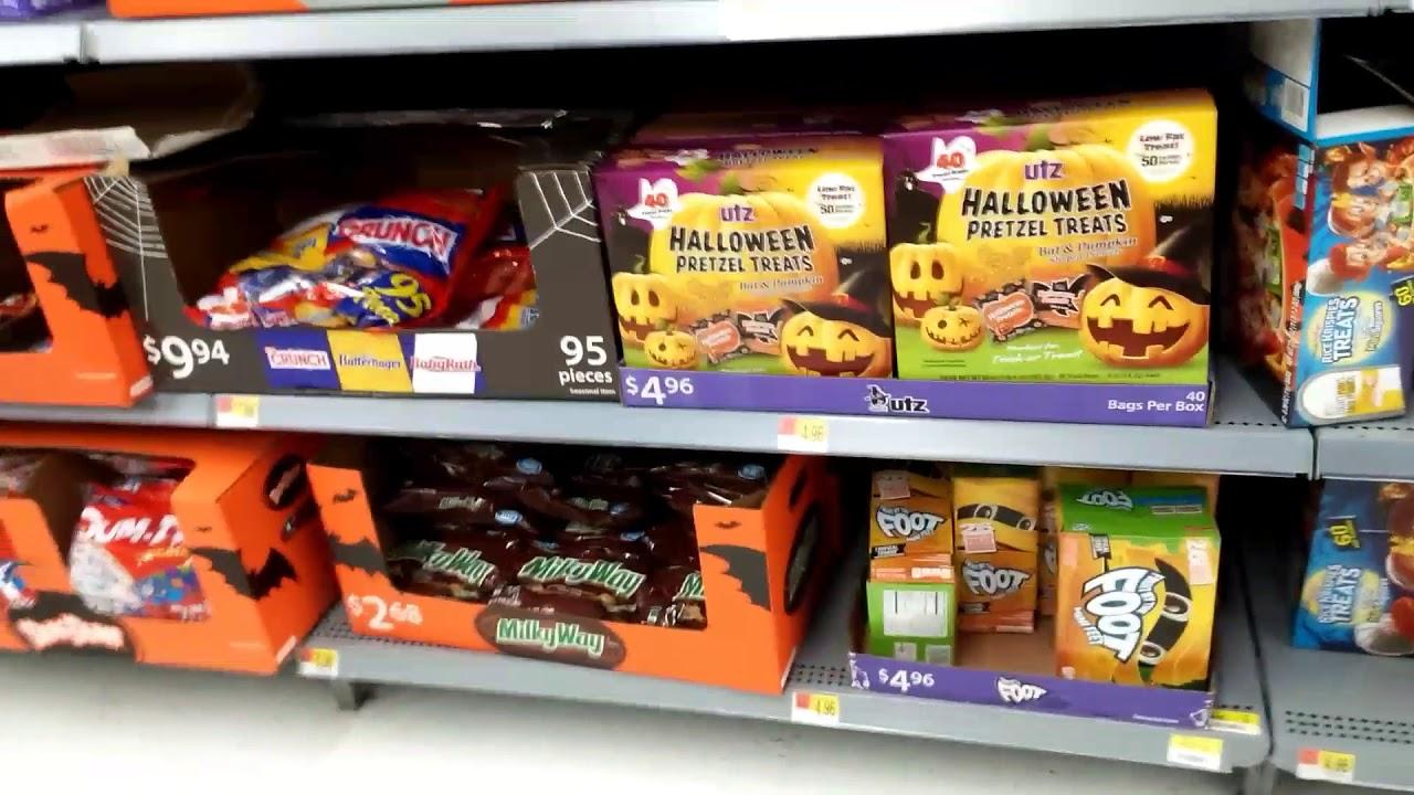 walmart halloween candy 50 off