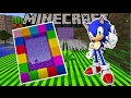 HOW TO MAKE A PORTAL TO SONIC THE HEDGEHOG DIMENSION!! Minecraft