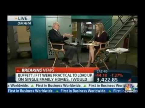 video:Warren Buffett on Investing in Single Family Rental Homes