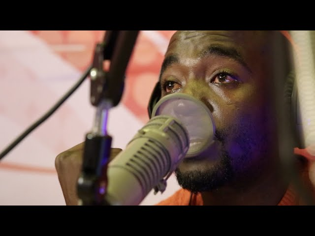 Patrick Igunza sheds tears on live radio