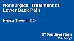 Nonsurgical Treatment of Lower Back Pain