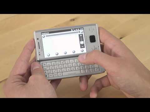Sony-Ericsson Xperia X2 Test Internet