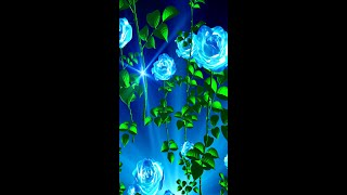 Blue Roses Live Wallpaper HD [Samsung Themes-Animations] screenshot 1