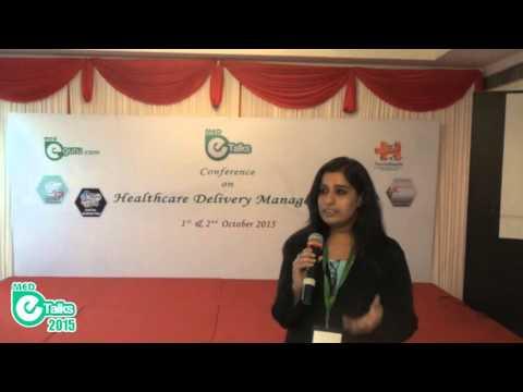 Testimonial  MedeTalks 2015 - Ms.Vishnupriya   Medical Tourism Consultant Kochi, India