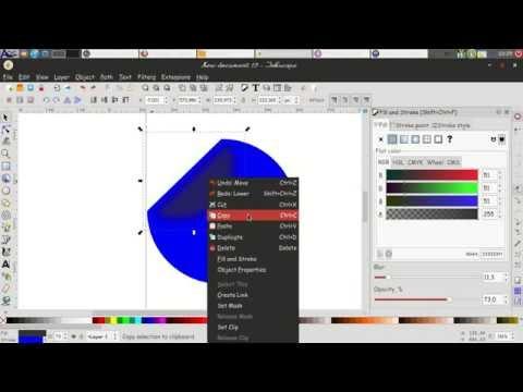 Membuat Sticker dengan Inkscape