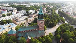 I live in this city, Turku in Finland. #finland #turku #dronevideo