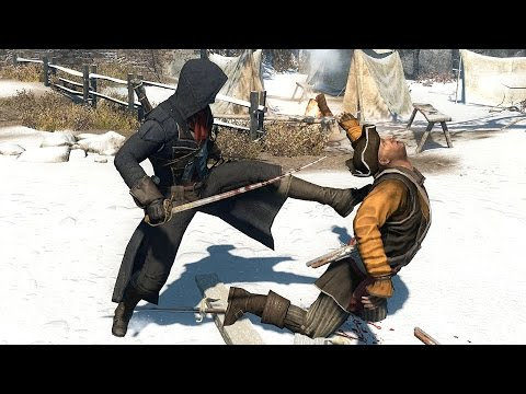 Assassin's Creed Rogue Arnos`s Outfit & Sword , Ship Combat and Harpooning