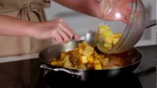 How To Make Orange-simmered Pork Chops With Mango Relish