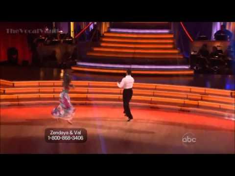 Zendaya Coleman & Val  Foxtrot - DWTS 16-Week 8