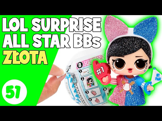 LOL SURPRISE ALL STARS BBS po polsku | Złota kula LOL WOW !!! Idealna Mama