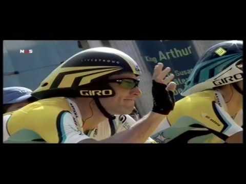 Lance Armstrong over Alberto Contador 2009 - Tour de France