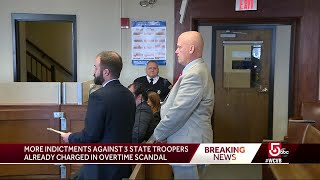 Retired Mass. State Police lieutenants face second round of indictments