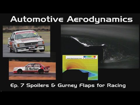 Automotive Aerodynamics Ep. 7: Spoilers and Gurney Flaps for Racing
