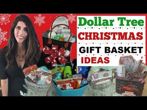 DOLLAR TREE CHRISTMAS GIFT BASKET IDEAS 🌲🎁 DIY CHRISTMAS GIFT IDEAS | Momma From Scratch