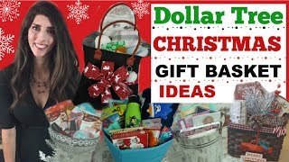 6 DOLLAR TREE DIY CHRISTMAS GIFT IDEAS 🌲🎁 CHRISTMAS GIFT BASKETS | Momma From Scratch