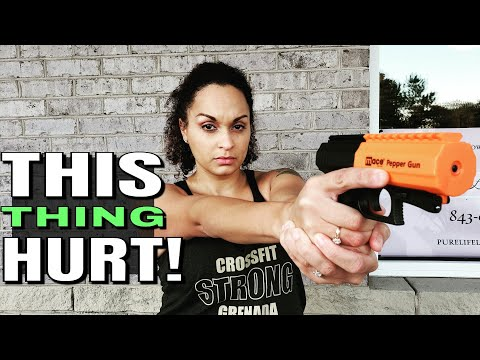 The Most Painful Thing I've Ever Done | Mace Pepper Gun Review