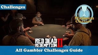 All Gambler Challenges Guide - Red Dead Redemption 2