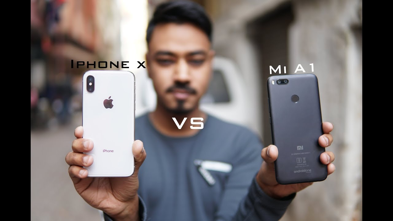 xiaomi mi a1 vs iphone se