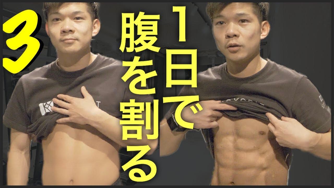 【5分で終わる】1日で腹筋を割る鬼の筋トレ③(ポッコリお腹、下っ腹、わき腹にも効く)