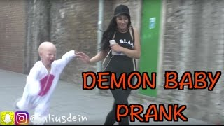 EVIL DEMON BABY PRANK!