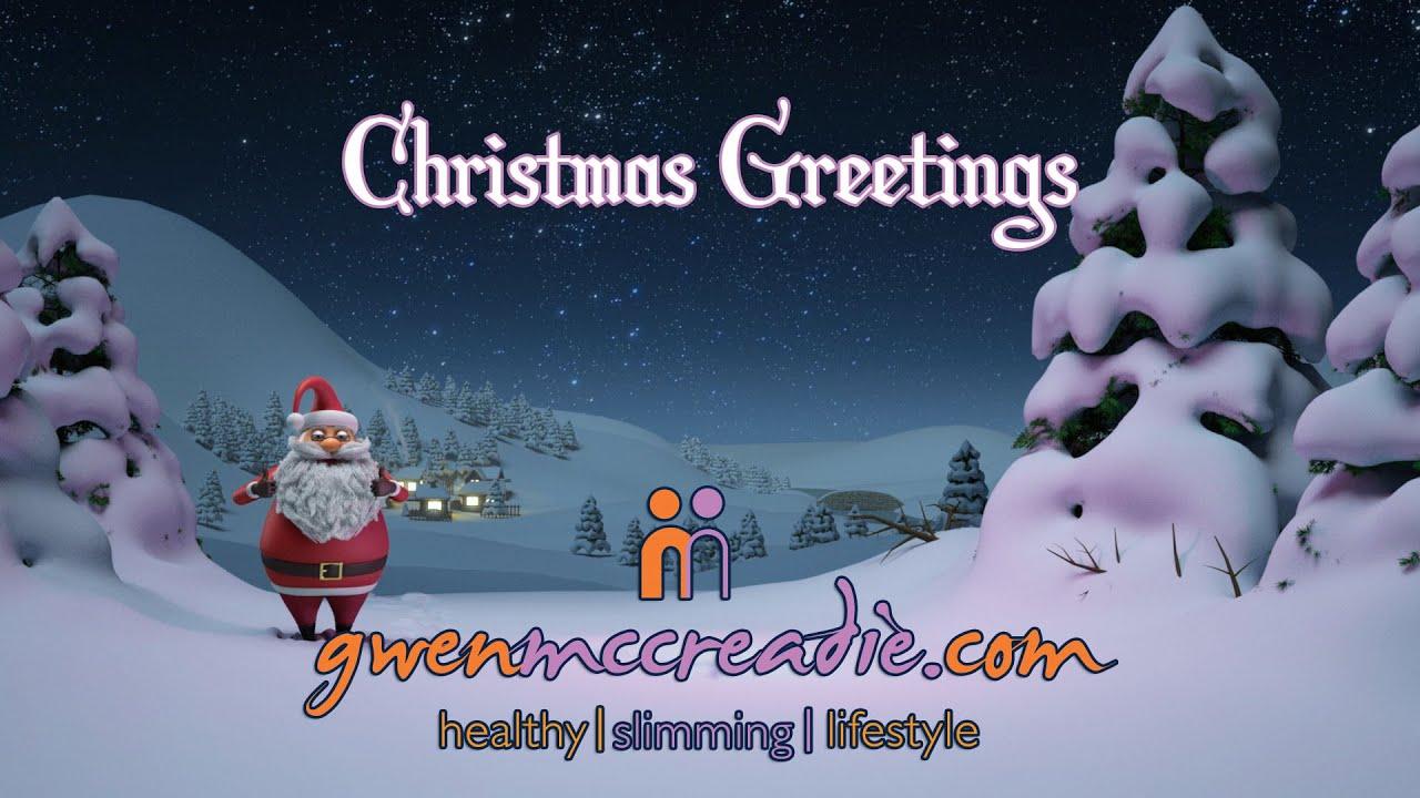 Gwen Mccreadie Christmas Greeting 07905 737 940 Slimming And