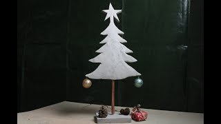 DIY.Tannenbaum ganz einfach zum Selbergießen /Fir Tree easy to pour yourself
