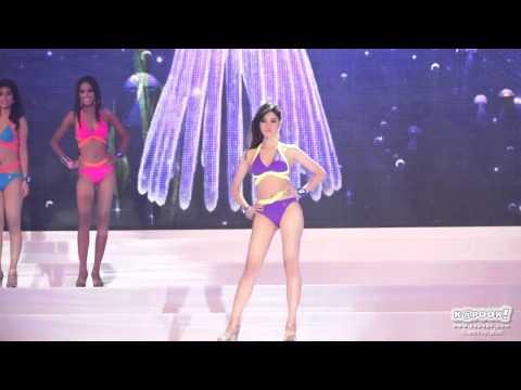แฟชั่นโชว์ชุดว่ายน้ำ Miss Thailand World 2014