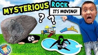 MYSTERIOUS ROCK ATTACK!?!?  (FUNnel Vision Vlog Goes Wrong!)   😉