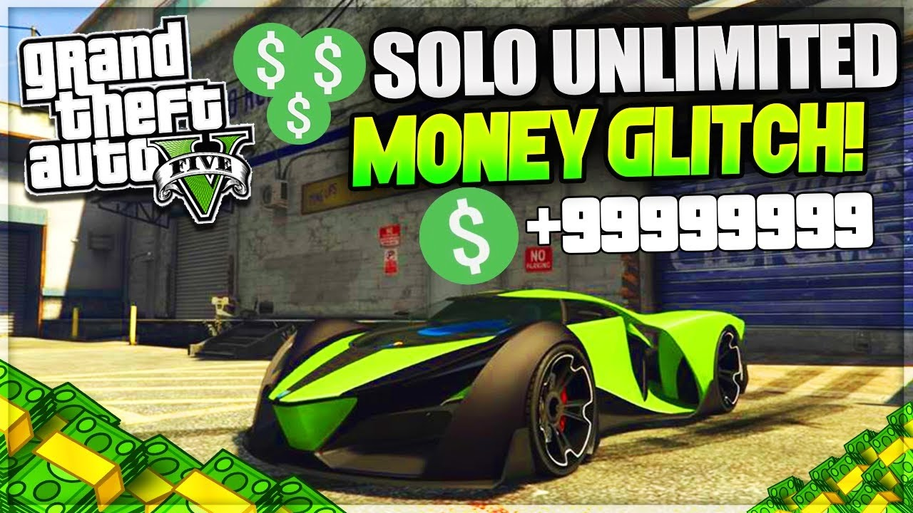 HOW TO GET FREE MONEY IN GTA 5 ONLINE/OFFLINE GLITCH ...