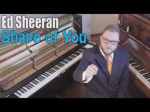 Ed Sheeran - Shape of You dual Piano (Instrumental)