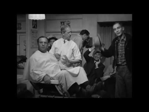 Thin man goes home (1945) - holící scéna
