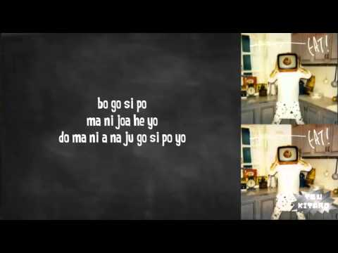 Zion.T - Eat lyrics (easy lyrics)