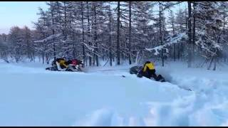 Квадроцикл по снегу(, 2015-02-20T09:55:33.000Z)