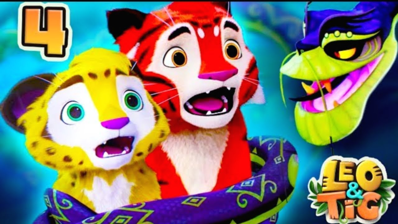 Download Leo and Tig - Autumn in Taiga - Episode 3 - Funny Family Good Animated Cartoon for Kids