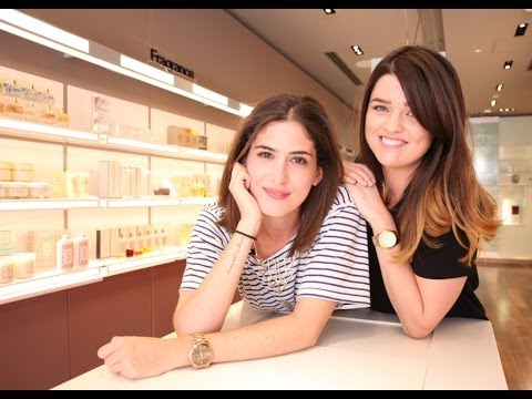 VIVIANNA AND LILY VISIT SPACE NK