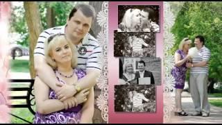 История любви Ольги и Олега. Фото клип на заказ